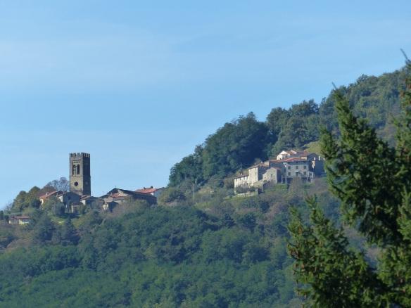 Pieve di Controne from Aurora
