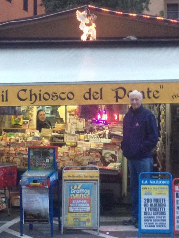 News kiosk Ponte a Serraglio