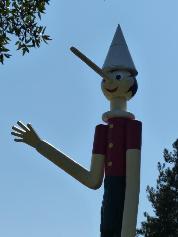 Pinocchio in Collodi