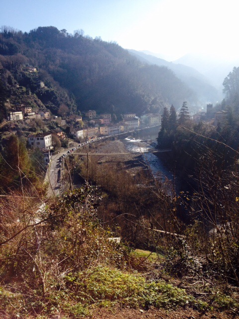 mule trail from Ponte a Serraglio