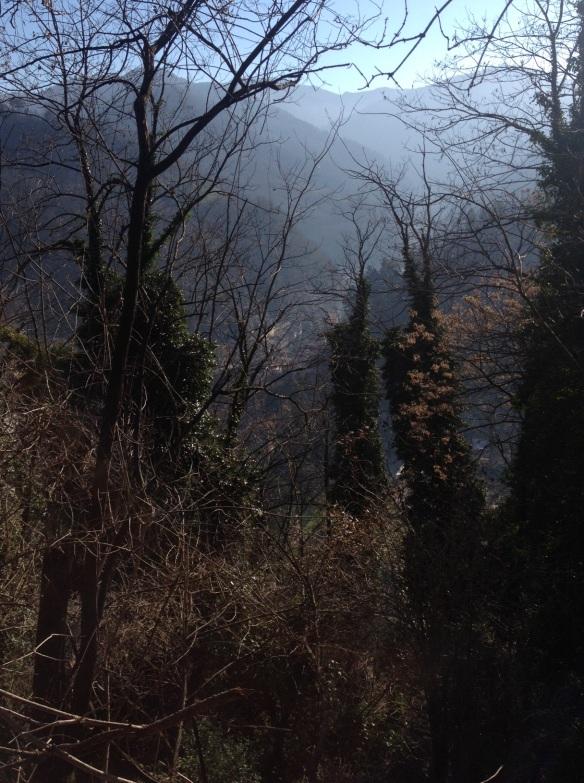 Mule trail to Granaiola