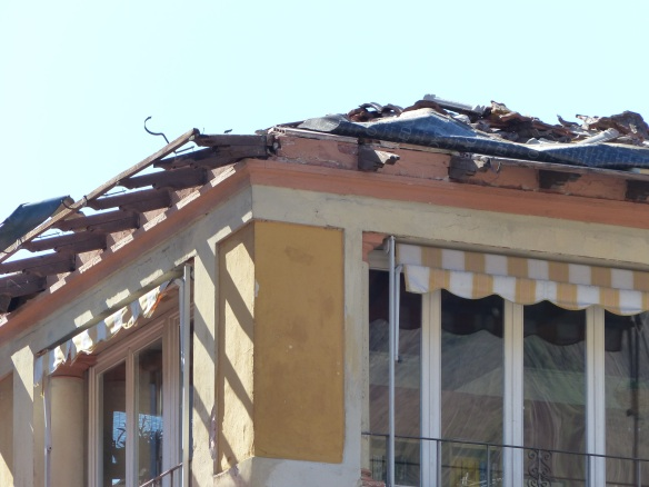 The pharmacy roof at La Villa