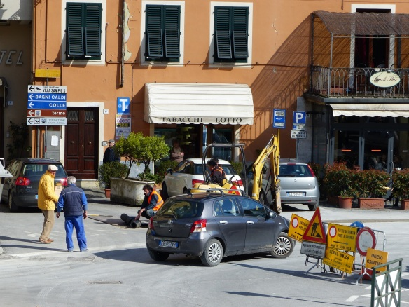 road works Ppnte a Serraglio