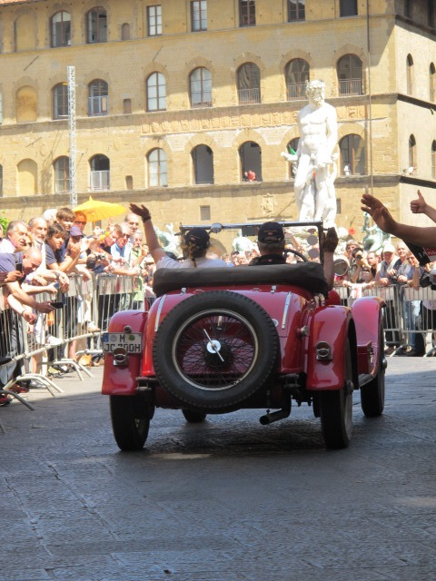 Mille Miglia in Florence
