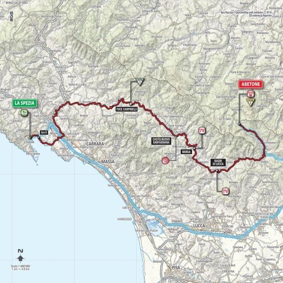 Giro d'Italia route 2015