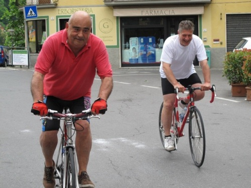 Bike race in Ponte a Serraglio