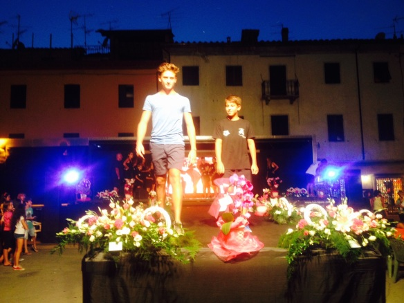 Fashion parade Bagni di Lucca