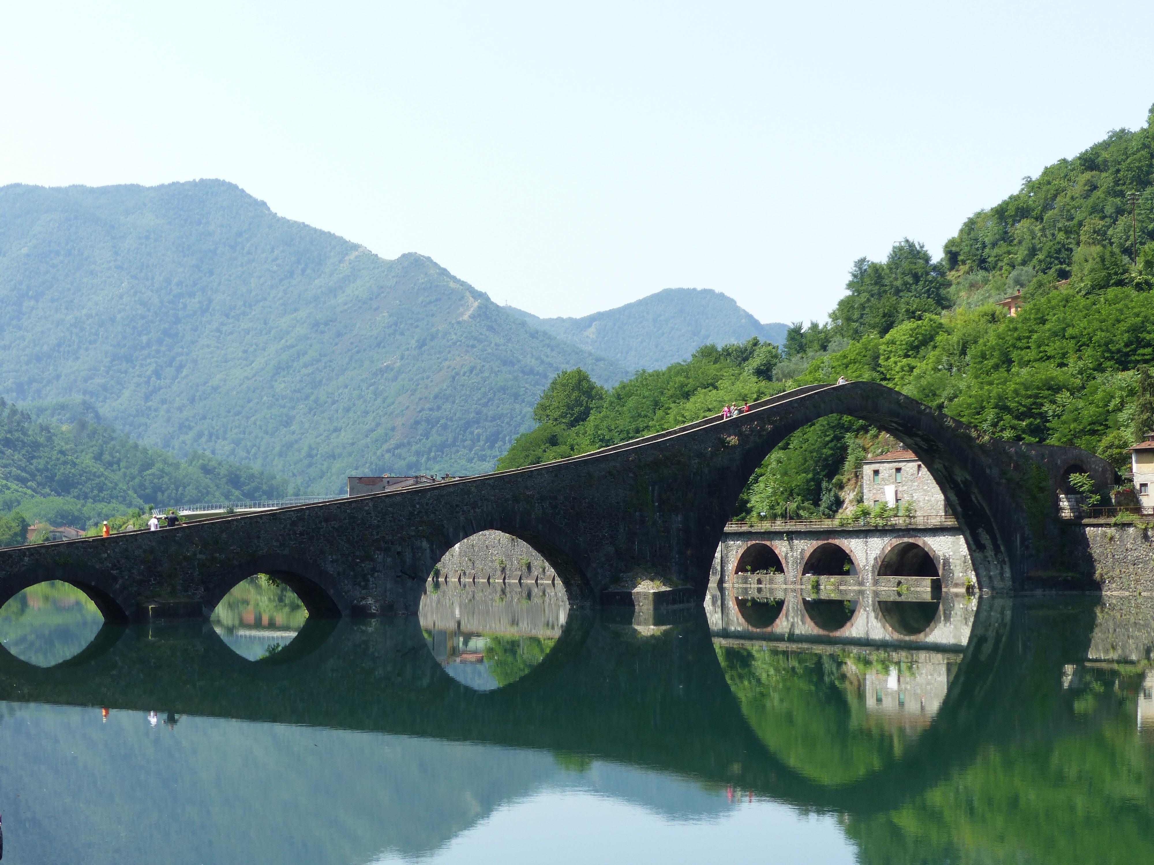 Bridge reflections | Bella Bagni di Lucca