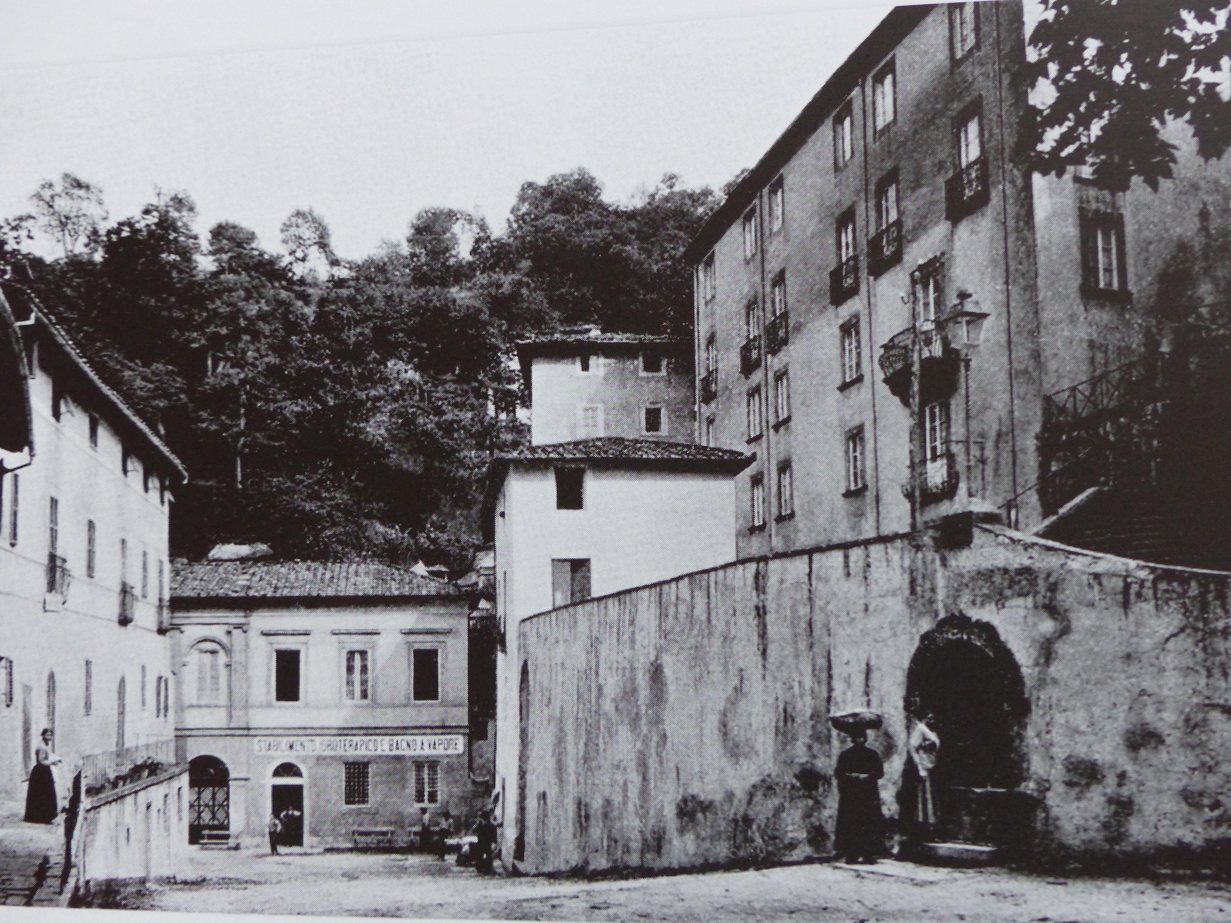 Then and now terme bella bagni di lucca - Terme di bagni di lucca ...