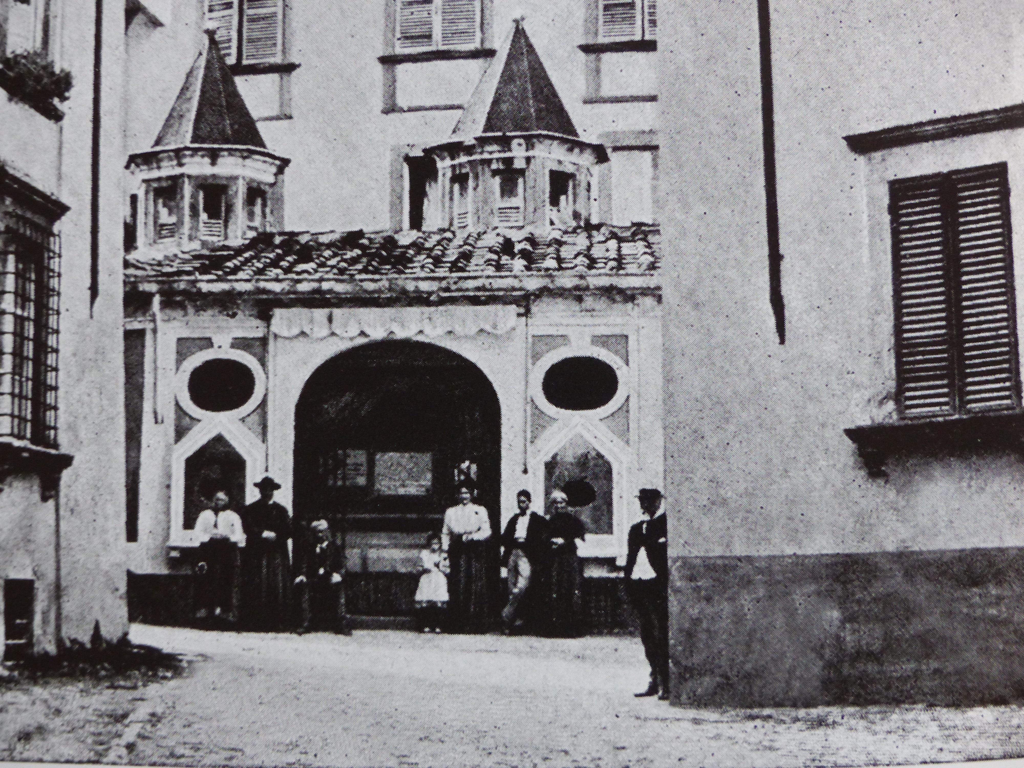 Then and now…Bagno alla Villa | Bella Bagni di Lucca