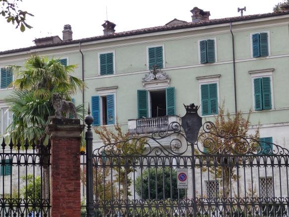 Elisa Baciocchi villa