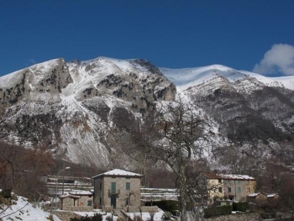 snow in Bagni di Lucca