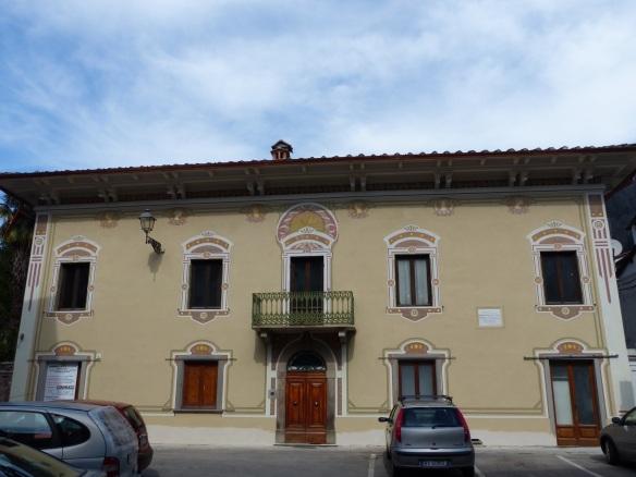 Barrett Browning house in Bagni di Lucca