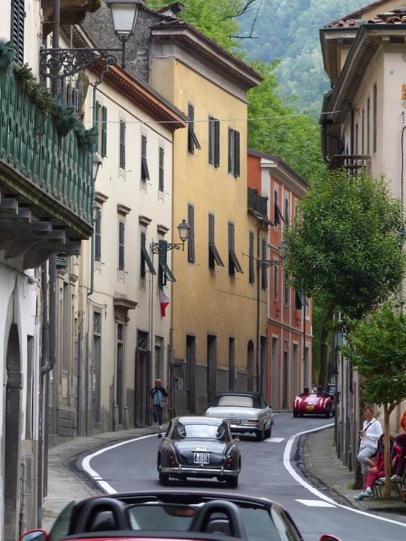 Mille Miglia in. Bagni di Lucca