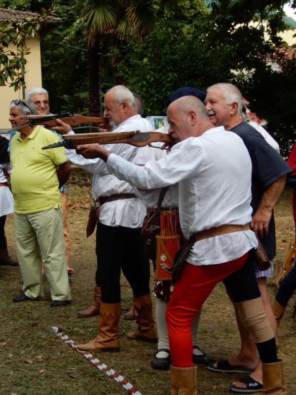 Crossbows in Bagni di Lucca