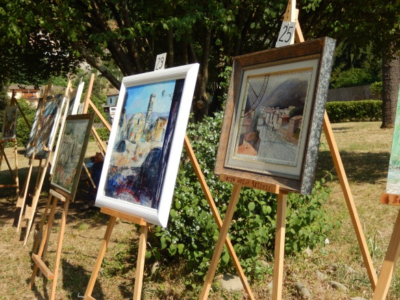 Art in the park Ponte a Serraglio