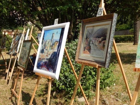 Art in the park Ponte a Serraglio
