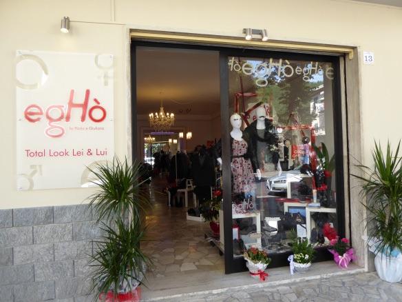 Giuliana's new shop in Fornoli
