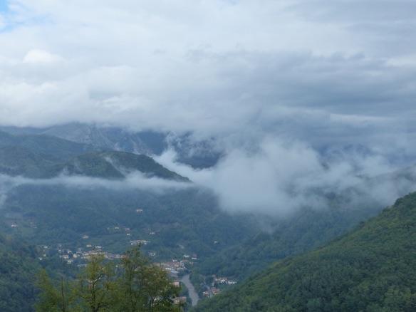 Autumn mists in Bagni di Lucca