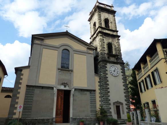 Ponte a Serraglio church