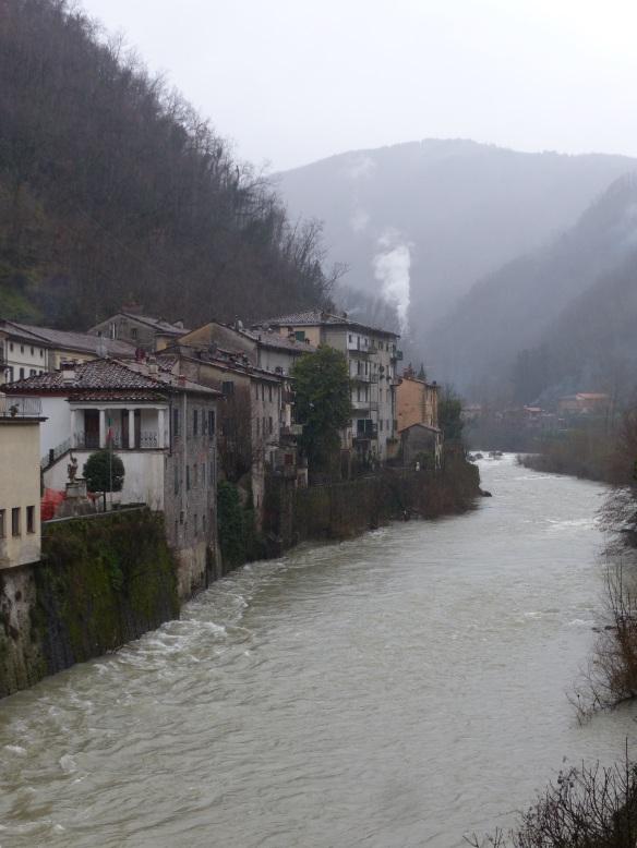 rain in Ponte a Serraglio