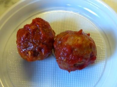 Meatball comp