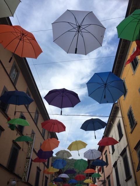 Umbrellas Bagni di Lucca