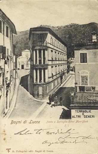 Then and now hotel de russie bella bagni di lucca - Hotel bagni di lucca ...