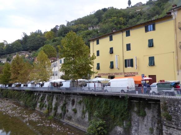 Ponte a Serraglio market