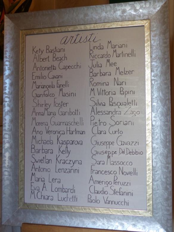 List of artists casino