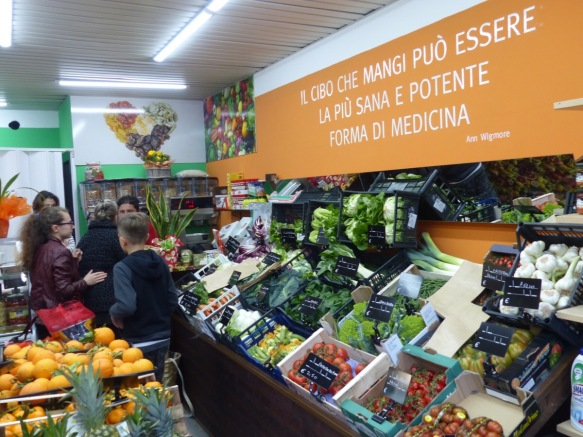 Fruit shop Ponte a Serraglio